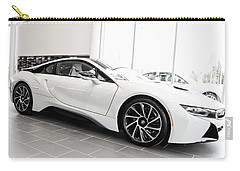 Carry-all Pouch featuring the photograph 2014 Bmw E Drive I8 by Aaron Berg