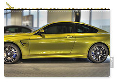 Vehicles Carry-all Pouch featuring the photograph 2015 Bmw M4 by Aaron Berg