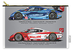 2015 Daytona Prototype Poster Carry-all Pouch