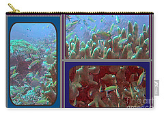 2015 Periscope Perspective Gallery Underwater Coral Reef Vegitation Photography In Landscape Format Carry-all Pouch