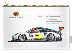 2016 911gt3r Rsr Poster Carry-all Pouch