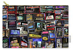 Carry-all Pouch featuring the photograph 2016 Broadway Spring Collage by Steven Spak