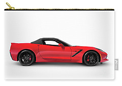 2016 Chevrolet Corvette Stingray Z51 Convertible Side View Carry-all Pouch