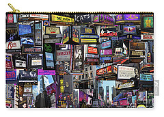 2017 Broadway Spring Collage Carry-all Pouch