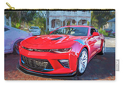 Carry-all Pouch featuring the photograph 2017 Chevrolet Camaro Ss2  by Rich Franco