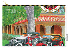 Carry-all Pouch featuring the painting 2017 International Cover Award by Jack Pumphrey