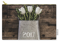 Carry-all Pouch featuring the photograph 2017 by Kim Hojnacki