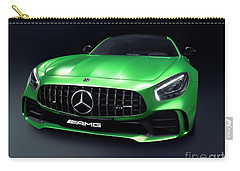 2017 Mercedes Amg Gt R Coupe Sports Car Carry-all Pouch