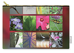 2017 Nature Calendar Carry-all Pouch by Peg Toliver