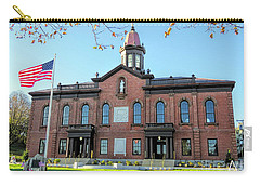 1820 Plymouth County Courthouse And New Town Hall  Carry-all Pouch
