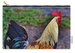 2017 Rooster Carry-all Pouch by Craig Wood