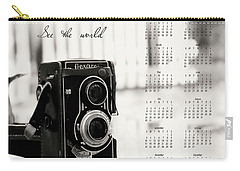 Carry-all Pouch featuring the photograph 2017 See The World Wall Calendar by Ivy Ho