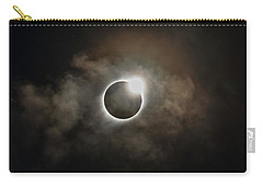 2017 Solar Eclipse Exit Ring Carry-all Pouch