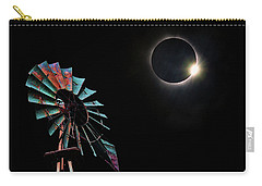 2017 Total Eclipse Central Nebraska Carry-all Pouch