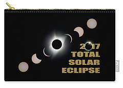 2017 Total Solar Eclipse Phases Carry-all Pouch