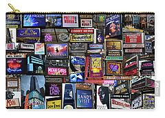 2018 Broadway Spring Collage Carry-all Pouch