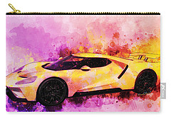 2018 Ford Gt Watercolour Whatta Ride Carry-all Pouch