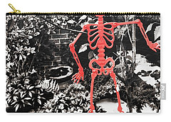 206 Dancing Bones Carry-all Pouch by JAMART Photography