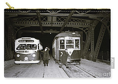 207th Street Crosstown Trolley Carry-all Pouch