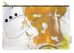 Carry-all Pouch featuring the painting Three Color Palette by Michal Mitak Mahgerefteh