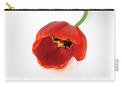 Red Tulip Carry-all Pouch by Elvira Ladocki