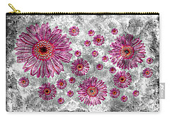 22a Abstract Floral Painting Digital Expressionism Art Carry-all Pouch