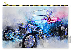 23 Model T Hot Rod Watercolour Illustration Carry-all Pouch