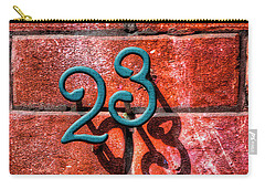 Carry-all Pouch featuring the photograph 23 by Paul Wear