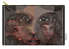 2327- Portrait Fractal 2017 Carry-all Pouch