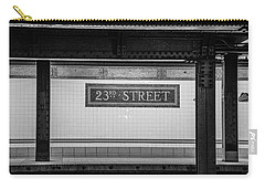 23rd Street Subway Nyc Carry-all Pouch