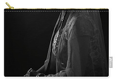 Portrait Of Indian Lady Carry-all Pouch