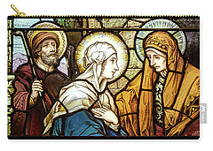 Saint Anne's Windows Carry-all Pouch