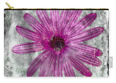 25a Abstract Floral Painting Digital Expressionism Carry-all Pouch