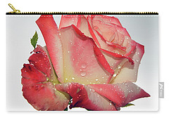 Nice Rose Carry-all Pouch by Elvira Ladocki