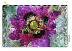 27a Abstract Floral Painting Digital Expressionism Carry-all Pouch