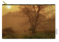 Misty Mountain Sunrise Carry-all Pouch by Thomas R Fletcher