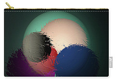 Carry-all Pouch featuring the digital art 2986-2017 by John Krakora