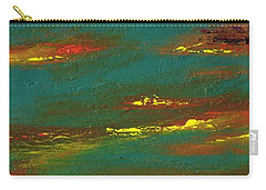 2nd In A Triptych Carry-all Pouch by Frances Marino