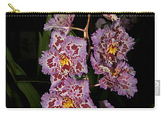 Cattleya Style Orchids Carry-all Pouch