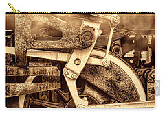 3 10 To Nowhere  Carry-all Pouch by American West Legend By Olivier Le Queinec