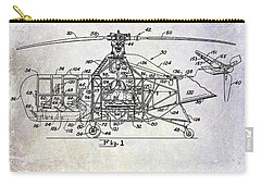 1950 Helicopter Patent Carry-all Pouch by Jon Neidert