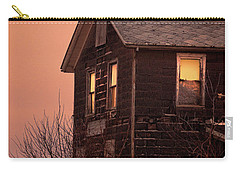 Carry-all Pouch featuring the photograph Abandoned House by Jill Battaglia