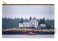 Carry-all Pouch featuring the photograph Acadia National Park  by Trace Kittrell