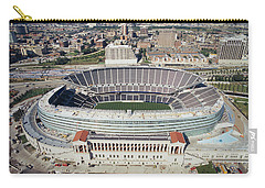 Aerial View Of A Stadium, Soldier Carry-all Pouch