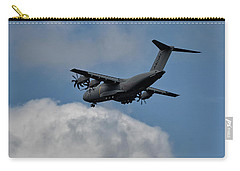Carry-all Pouch featuring the photograph Airbus A400m by Shirley Mitchell