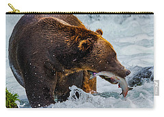 Alaska Brown Bear Carry-all Pouch