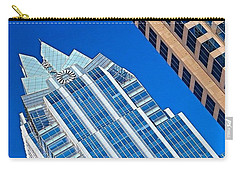 #beautiful #bluesky And The Frost Bank Carry-all Pouch