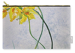 3 Blooms Dancing Carry-all Pouch