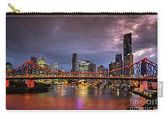 Brisbane City Skyline After Dark Carry-all Pouch