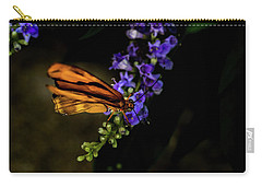 Carry-all Pouch featuring the photograph Butterfly by Jay Stockhaus